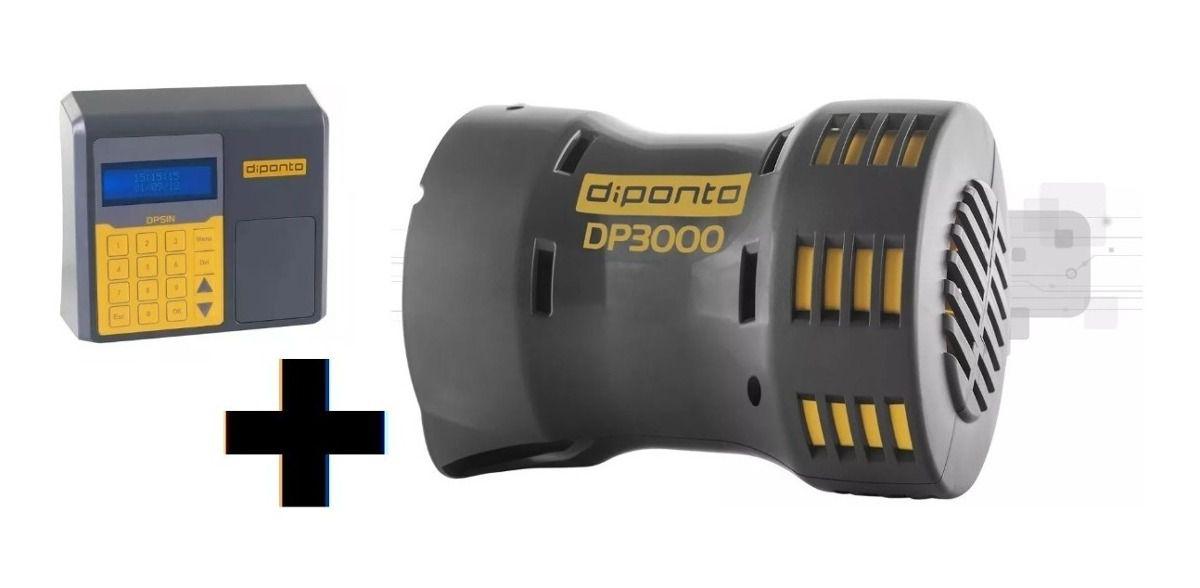 Sirene Rotativa 3000 Metros 127v + Acionador Horário DPSIN