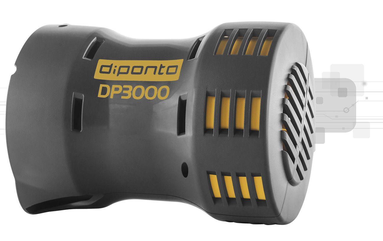 Sirene Rotativa 3000 Metros 220v + Acionador Horário DPSIN