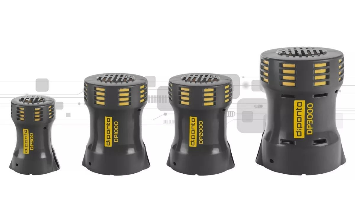 Sirene Rotativa Escolar Industrial Alta Potencia Dp3000 110v