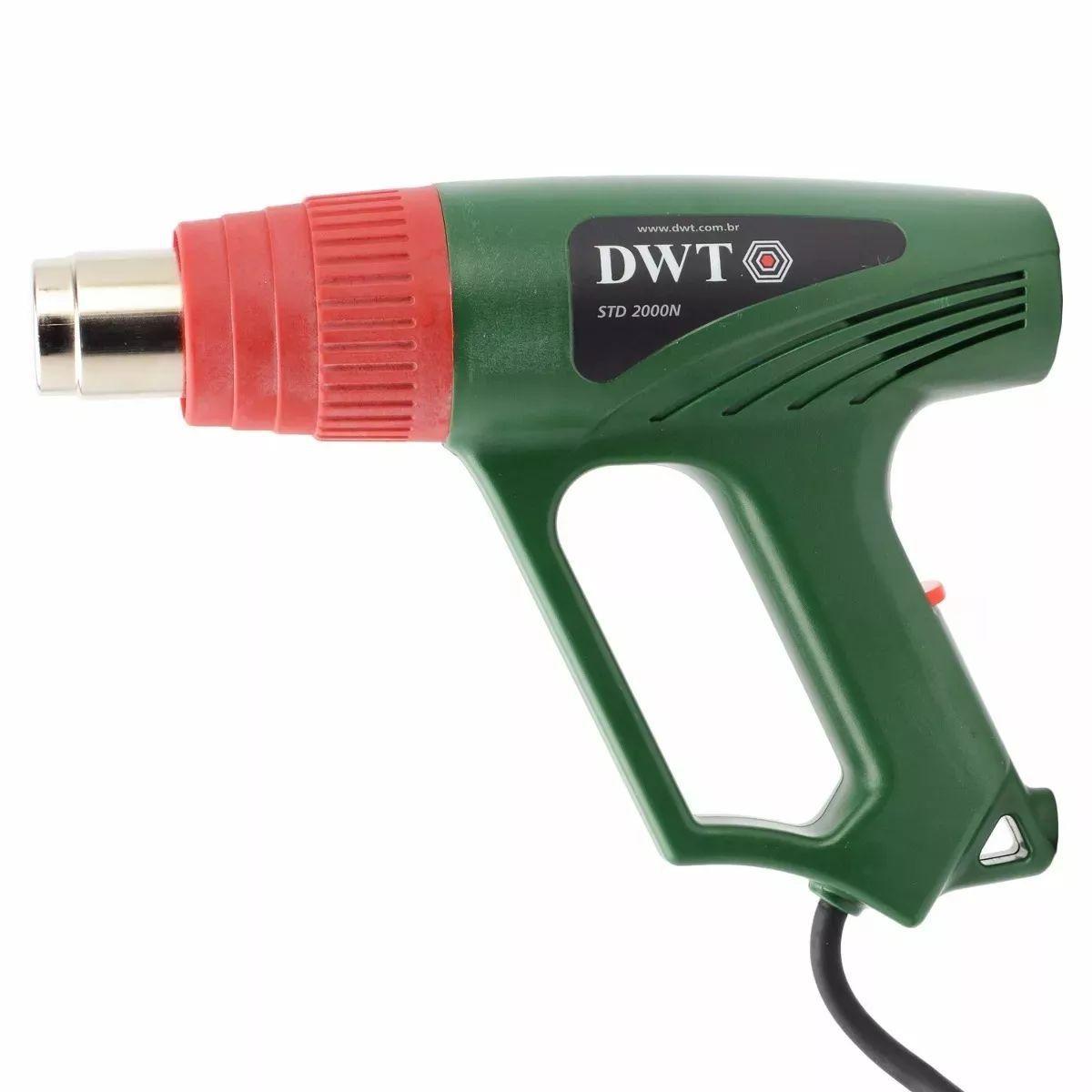 Soprador Térmico Profissional Dwt 2000 Watts Potente 220v