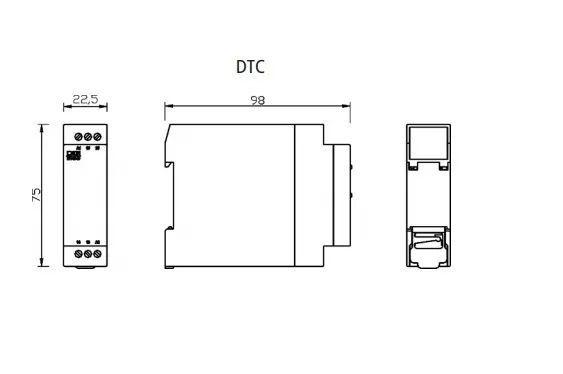 Temporizador Rele Cíclico Dtc-1 Digimec 30/30 Segundos 220v