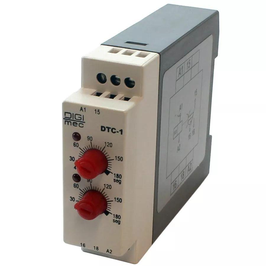 Temporizador Rele Cíclico Dtc-1 Digimec 60/60 Segundos 220v