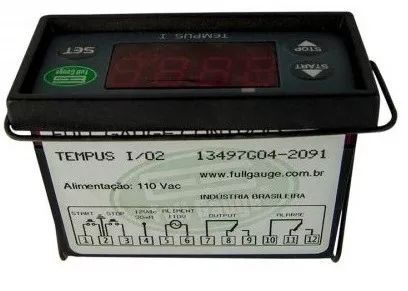 Temporizador Timer Digital / Contador Tempus E Full Gauge