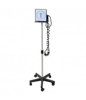 Aparelho de Pressão Arterial Esfigmomanômetro Pedestal com Rodízios - Premium