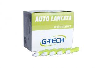 Auto lanceta G-Tech Caixa Com 100 unidades