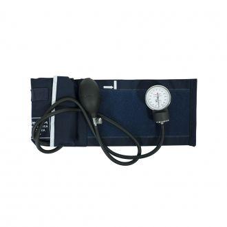 Esfigmomanômetro Adulto Algodão Fecho Velcro - Premium - Azul