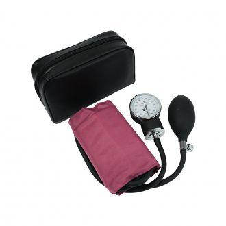 Esfigmomanômetro Adulto Algodão Fecho Velcro - Premium - Rosa