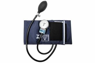 Esfignomanômetro Adulto Nylon Fecho de Contato - Azul