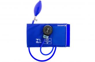 Esfignomanômetro Adulto Nylon Fecho de Contato – BIC Azul