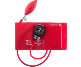 Esfignomanômetro Adulto Nylon Fecho de Contato – BIC Vermelho
