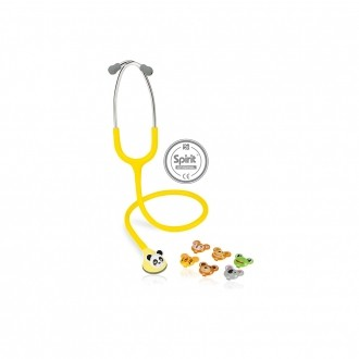 Estetoscópio Spirit® Master-Lite Pediátrico Amarelo