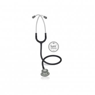Estetoscópio Spirit® Pro-Lite Cinza Escuro Transparente
