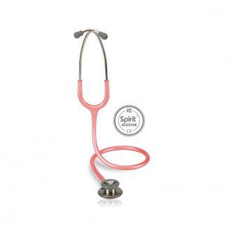 Estetoscópio Spirit Professional Rosa Perolizado