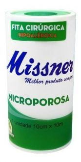 Fita Cirúrgica Microporosa Branca 10cm X 10m
