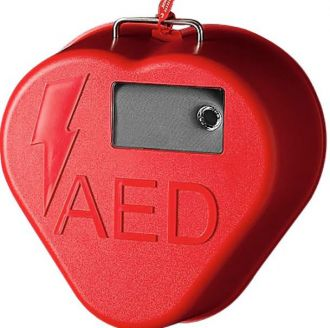 Gabinete para Samaritan PAD com Alarme Heartcase
