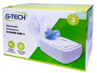 Inalador/Nebulizador Ultrassônico G-TECH Ultraneb Desk 2