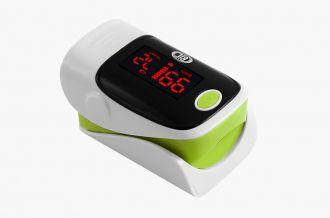 Oxímetro de Pulso BIC Monitor de Dedo Verde - YK-80A - Adulto