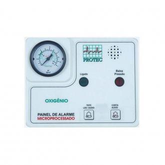 Painel Alarme Rede de Oxigênio Microprocessador - Protec