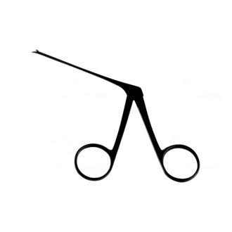 Pinça para Biopsia Micro Curva / Direita Auricular - 8 Cm