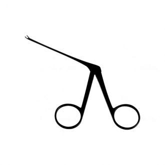 Pinça para Biopsia Micro Curva / Esquerda Auricular - 8 Cm