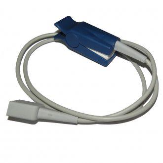 Sensor de Oximetria Reutilizável Bionet Tipo Clip Adulto para Monitor