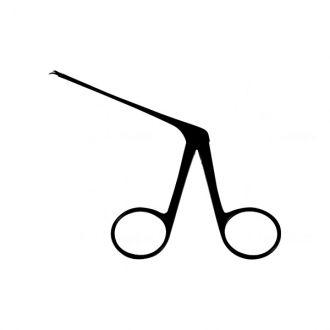 Tesoura Bellucci Micro Curva Direita Auricular - 8 Cm