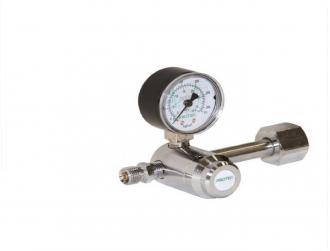 Válvula Para Cilindro Com 1 manômetro Oxigênio - Protec