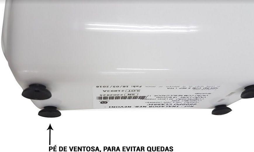 Inalador / Nebulizador Nevoni Classic (bivolt automático)