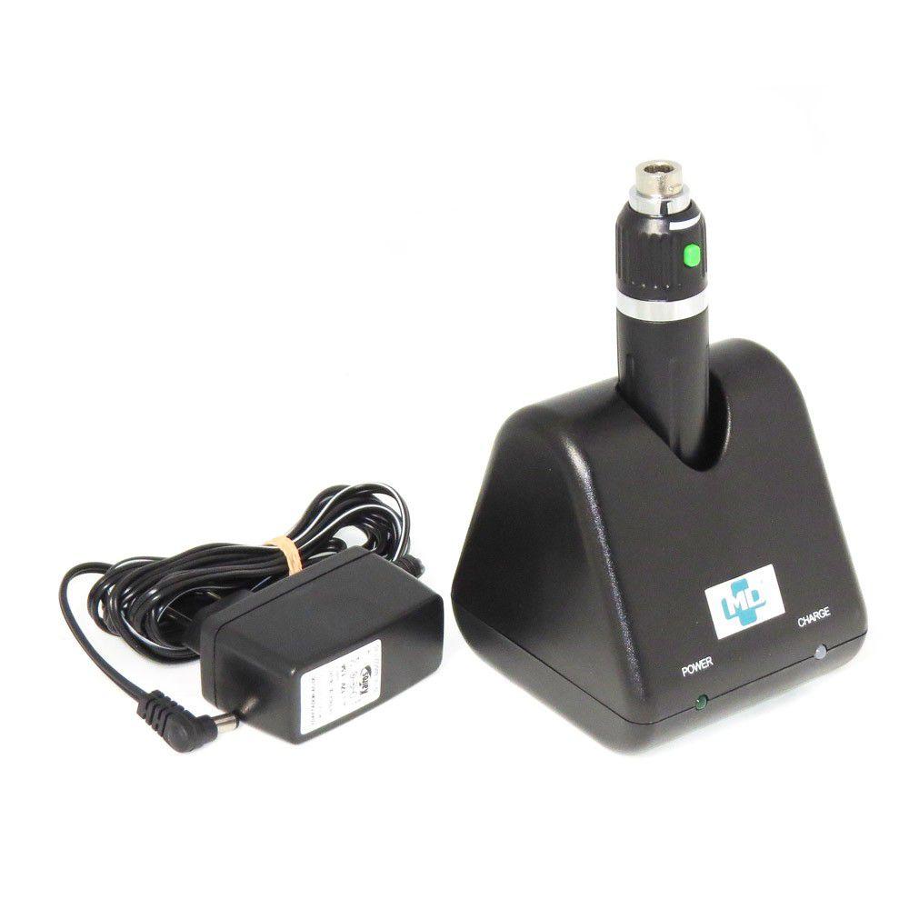 Cabo Recarregável 3.5V MD em ABS com Bateria de Lítio e Carregador de Mesa