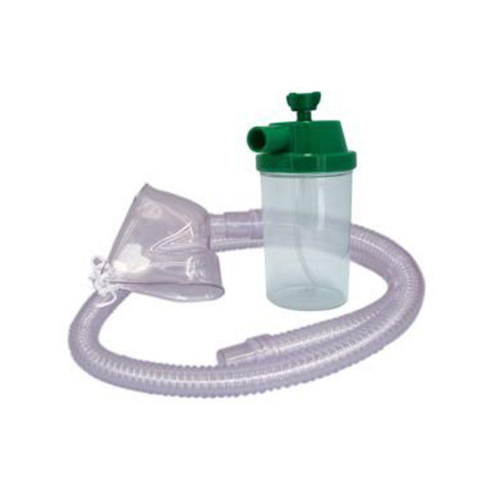 Conjunto para Nebulização PVC O2 1200mm Adulto - Protec
