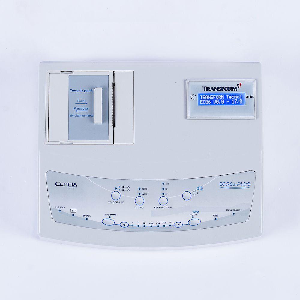 Eletrocardiógrafo ECG-6 Plus