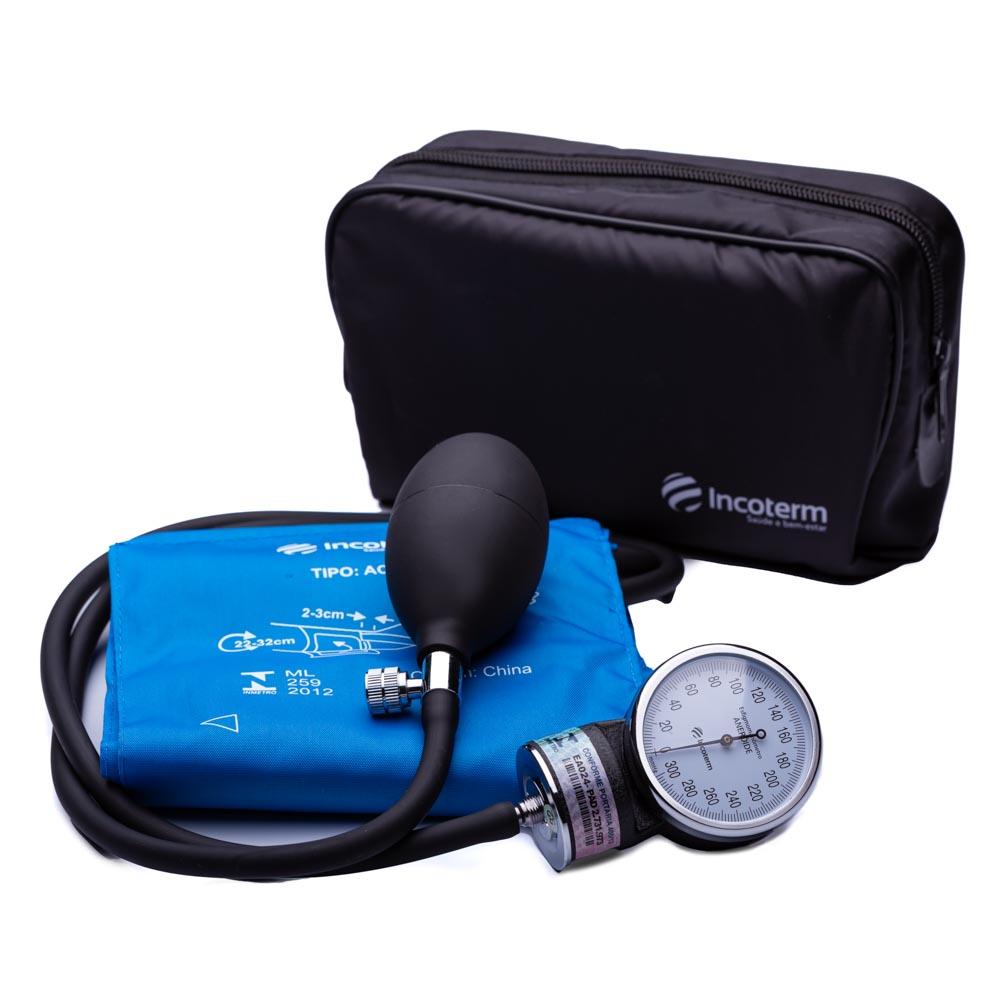Esfigmomanômetro Aneróide EA100 - Azul