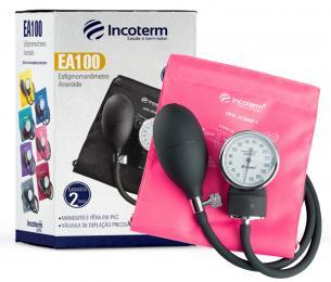 Esfigmomanômetro Aneróide EA100 - Rosa