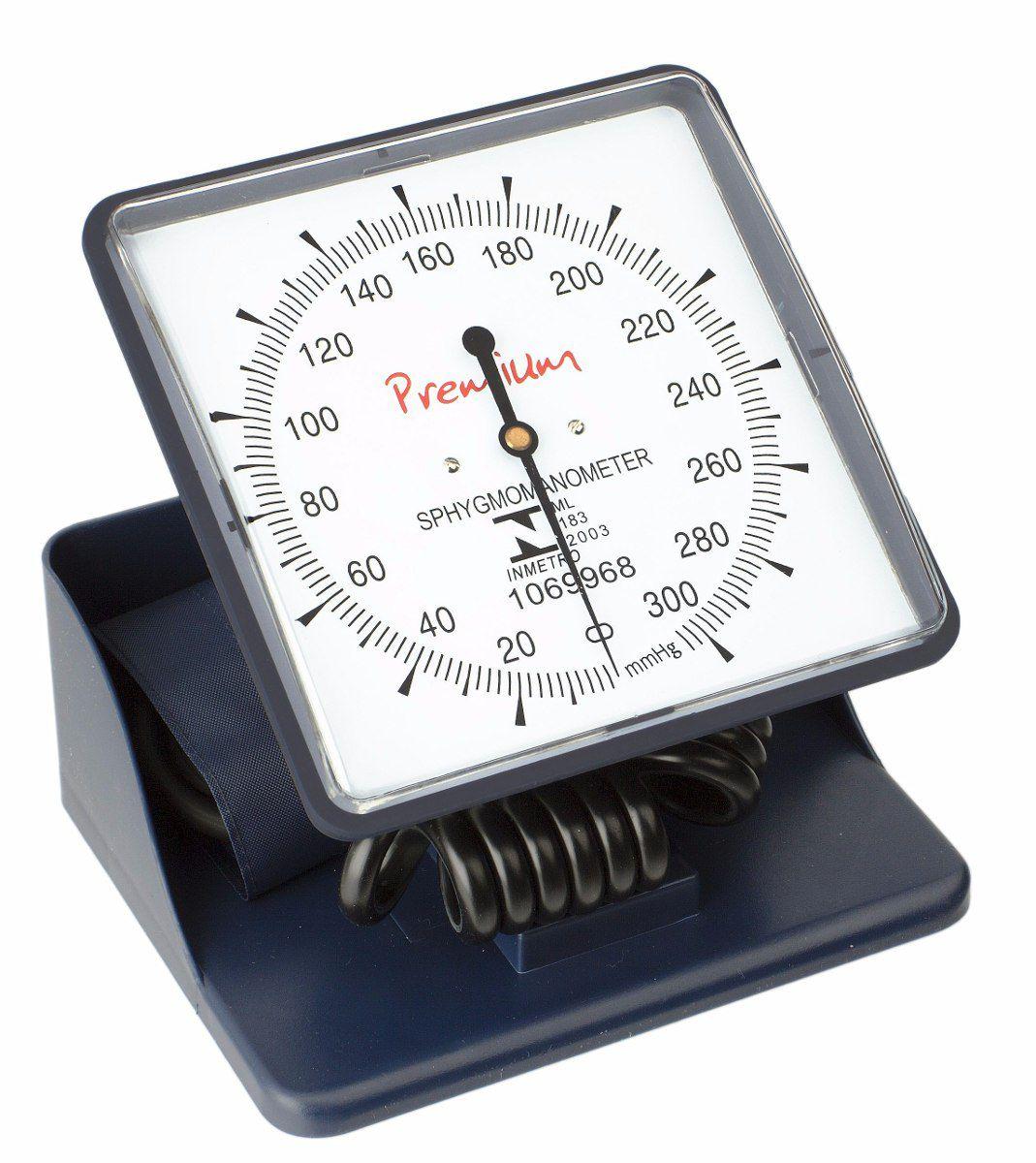 Esfigmomanômetro Hospitalar de Mesa/Parede Premium