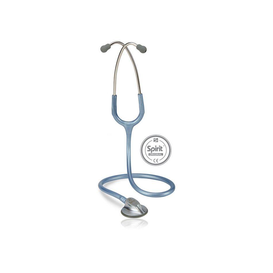Estetoscópio Spirit® Master Pro Azul Perolizado
