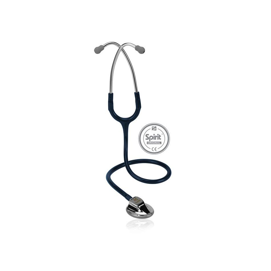 Estetoscópio Spirit® Master Pro - Azul Marinho