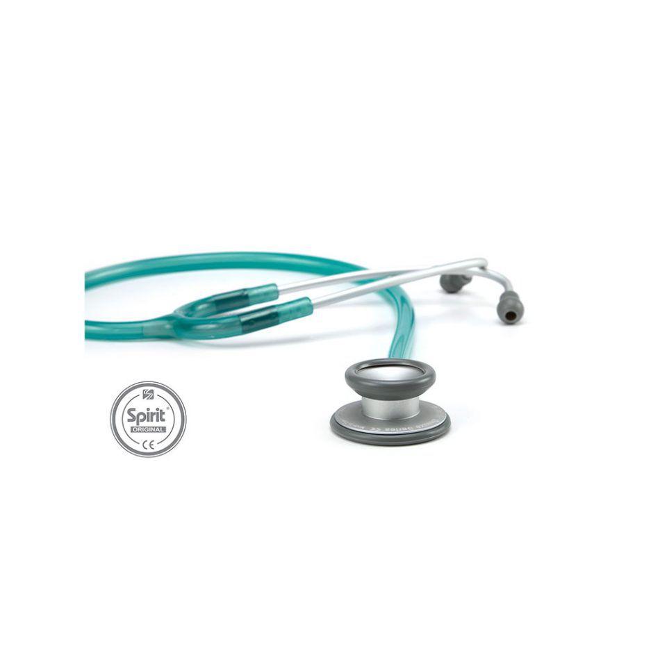 Estetoscópio Spirit® Pro-Lite Azul Claro Perolizado