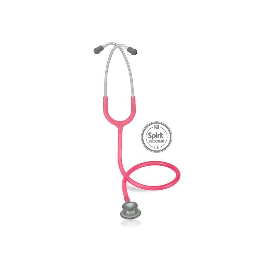 Estetoscópio Spirit® Pro-Lite Pediátrico Rosa Perolizado