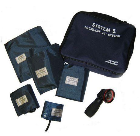 Estojo Nylon para 5 Braçadeiras Multicuff System 5 MD
