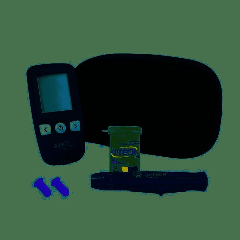 Kit Medidor de Glicose G-Tech Free