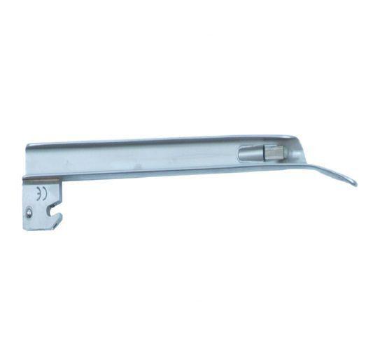 Lâmina de Aço Inox Convencional P/ Laringoscópio Reta 4 - Protec