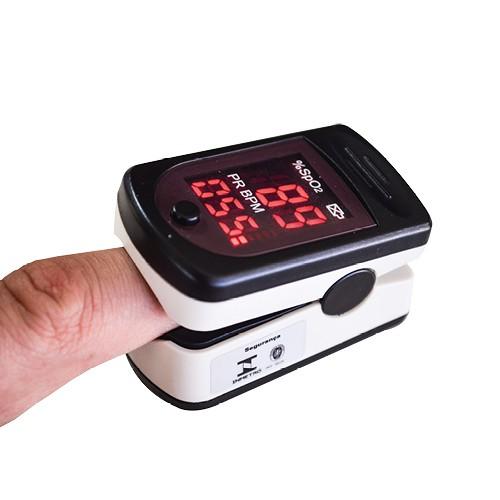 Oxímetro de pulso Acúrio AS-301L Monitor de Dedo