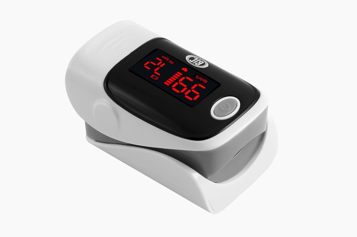 Oxímetro de Pulso BIC Monitor de Dedo Cinza - YK-80A - Adulto