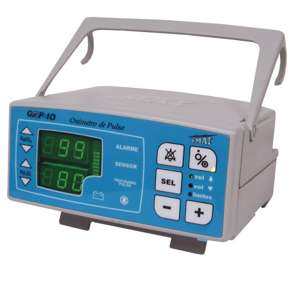 Oxímetro de Pulso  Emai/Transmai de Mesa - OPX 10