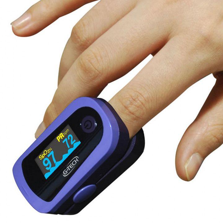 Oxímetro de Pulso OLED GRAPH G-TECH Monitor de Dedo