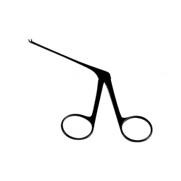 Pinça Hartmann Micro Curva para Cima Auricular - 8 Cm