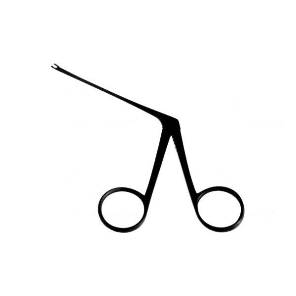 Pinça para Biopsia Micro Reta Auricular - 8 Cm