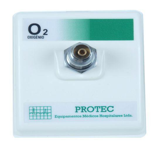 Posto Parede Interno Para Oxigênio - Protec