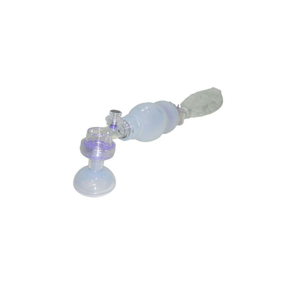 Reanimador Manual de Silicone MD com Reservatório Neonatal  (Ambú)