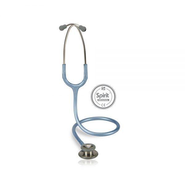 Estetoscópio Spirit Professional Azul Claro Perolizado